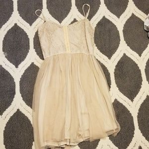 Dresses & Skirts - Tan dress